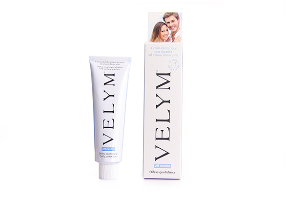 non abrasive whitening dental cream Velym